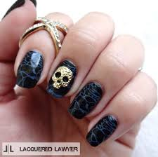 halloween monster nails dark waters how to paint a character nail beauty on cut out keep