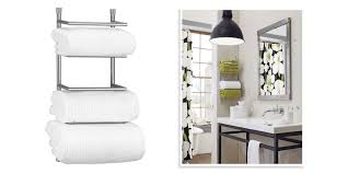 decor fascinating wall mounted towel rack for wall storage ideas