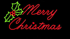 interesting decoration merry lighted sign merry