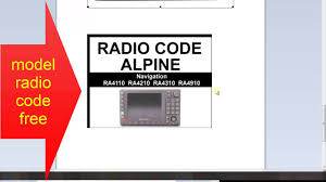 mercedes model codes mercedes alpine navigation radio code free model radio