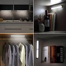 rechargeable motion sensor light cshidworld wireless closet light