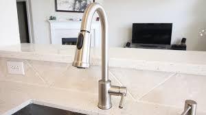moen single handle kitchen faucet youtube