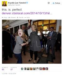 Young Girl Meme - nice time little girl meets hillary clinton joyously freaks out