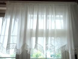 Lace Cafe Curtains Kitchen by Compare Prices On Kitchen Curtains White Online Shopping Buy Low