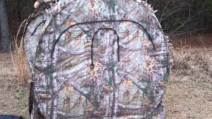 Tree Trunk Hunting Blind The Bone Collecter Hunting Blind Review And How To Take It Down