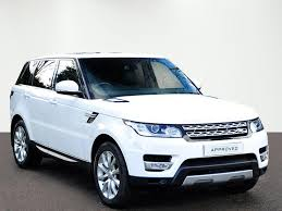 range rover sport white land rover range rover sport sdv6 hse white 2014 01 14 in