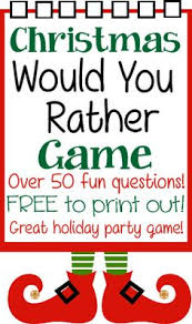 Games For Christmas Party Adults