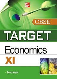 target cbse economics class xi 1st edition buy target cbse