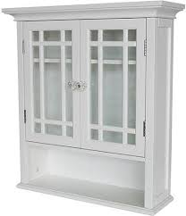 wall kitchen cabinet with glass doors in white heritage wall cabinet with doors and shelf white