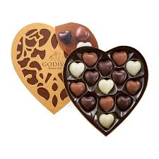 Chocolate Delivery Godiva Cœur Selection 14 Chocolates Delivery In Europe Others