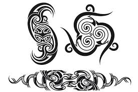 tribal tattoo patterns 3x patterns creative market