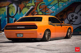 Dodge Challenger Custom - orange dodge challenger on vfs2 wheels gallery dodge challenger