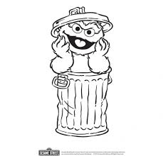 oscar the grouch coloring page with regard to motivate to color an