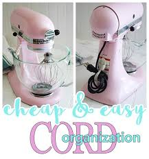 kitchen appliances cheap small kitchen appliance and power tool cord organization tip