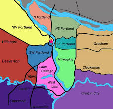 Map Of Portland Map Of Portland Oregon Neighborhoods Portland Oregon