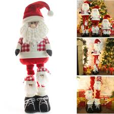 large free standing father christmas santa claus floor decoration