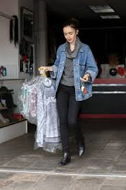 collins leaving the dry cleaners in beverly hills 1 5 2017