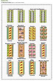 great looking vegetable and cut flower garden plan i only have 8