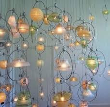 Diy Glass Chandelier Diy Lamp Reuse Bottles Diy By Santa Fe Rustics Pinterest