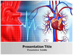 cardiovascular powerpoint template free free animated powerpoint