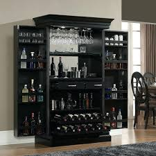 small wall wine rack ashley heights home bar wine cabinet wine