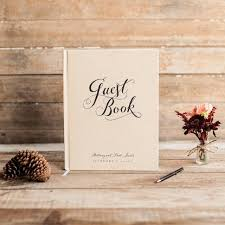 Customized Wedding Gift Wedding Guest Book Wedding Guestbook Custom Guest Book