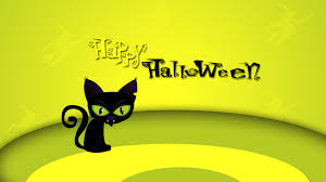 halloween black cat wallpaper lovely pastries hd wallpaper 1253421