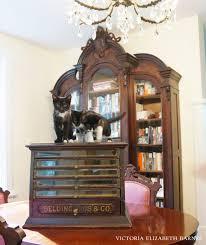 Glass Display Cabinet Craigslist Antique Spool Cabinet Victoria Elizabeth Barnes