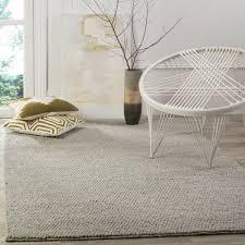 Area Rugs 9 X 12 Safavieh Natura Hand Tufted Silver Wool Area Rug 9 U0027 X 12 U0027 Free