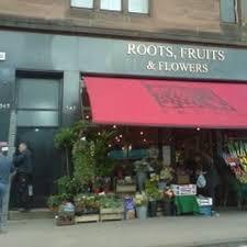 Flowers Glasgow - roots fruits u0026 flowers closed greengrocers 351 byres road