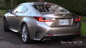 lexus rc price uae new car sell off u0027s video review of the 2015 lexus rc 350 awd