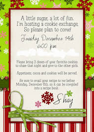 on the 7th day of christmas i hosted a recipe exchange mix and