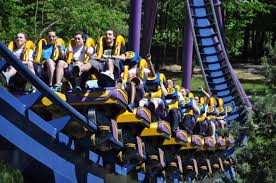 6 Flags Water Park Nj Six Flags Great Adventure Bizarro Opening Day Theme Park Review