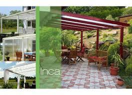 modele de terrasse couverte de terrasse inca aluminium extérieur