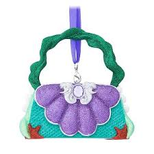 your wdw store disney purse ornament princess ariel from the