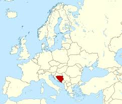 Large World Maps by Large Location Map Of Bosnia And Herzegovina Bosnia And