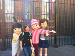Universal Studios Hollywood Map File Despicable Me Three Girls Universal Studios Hollywood Jpg