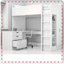 Ikea Bunk Beds Sydney Stuva Loft Bed With 4 Drawers 2 Doors White Pink Lofts And Drawers