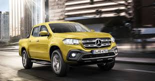 mercedes pick up say hello to the x class the first mercedes pick up truck