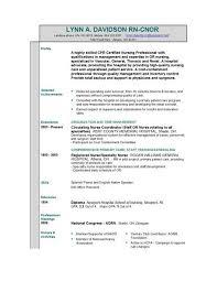 Best Resume Format For Nurses by Resume Format U2013 Businessprocess