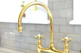 kitchen faucet brass polished brass kitchen faucet snaphaven