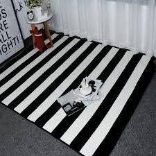 Black And White Striped Outdoor Rug by לבן שטיח קנו זול לבן שטיח הרבה מסין לבן שטיח ספקים ב Aliexpress Com