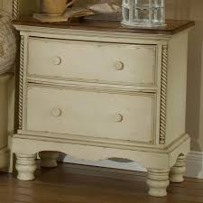 distressed antique white nightstand home design ideas