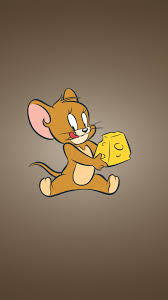 download wallpaper 1080x1920 tom jerry cheese mouse
