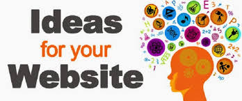 look for ideas when your website
