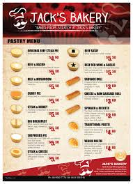 Bakery Price List Template Jacks Bakery Price List By 3dprodigy On Deviantart