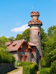 house with tower fairytale house with tower stock photo image of architecture 58377222