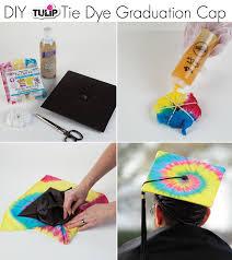Diy Graduation Party Decorations Tie Dye Graduation Cap Using Tulip One Step Tie Dye Such A Cool