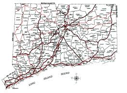 road map connecticut usa decd connecticut maps