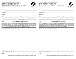 church donation receipt template for religious organization
